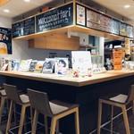 セレクトカフェ モカマタリ - カウンター席