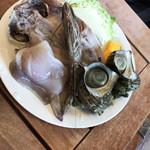 舟戸の番屋 - 料理写真: