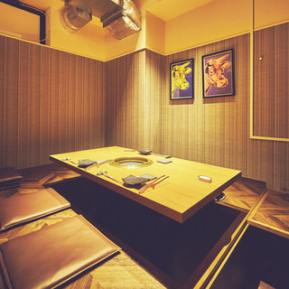 人気の完全個室&半個室!モダンカジュアルなオシャレな空間!