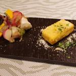 クオーレアズーロ - 北海道野菜バーニャ・カウダ、パネッレ