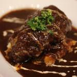 肉バルガッチャ - 国産牛ほほ肉赤ワイン煮込み