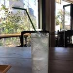 まちかど農園カフェ POSTo - 強炭酸ソーダ(アロエ)