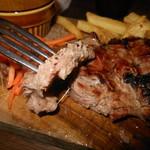 119266622 - ステーキのお肉 アップ