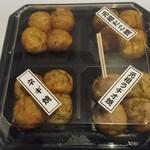 会津屋 - たこ焼き(4種盛り)