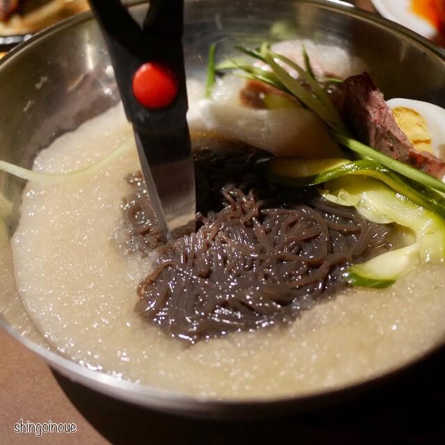 ユッチャン 焼肉 冷 麺