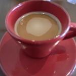 ARCH seaside cafe&bar - 〆のホットコーヒー
