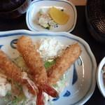 ふみや - エビフライ定食