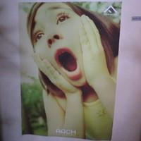 ARCH seaside cafe&bar-正面にあるポスター