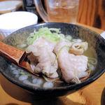 べったこ - 店主謹製 もつ煮(470円)