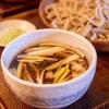 矢打 - 料理写真:鴨汁せいろ中盛り
