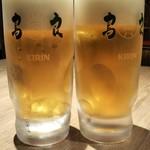119284114 - 生ビールで乾杯!