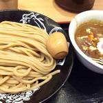 松戸富田製麺 - 味玉カレーつけ麺 1000円