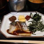 おひつ膳 田んぼ - 昼おひつ膳(さば味噌煮)