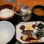 おひつ膳 田んぼ - さば味噌煮