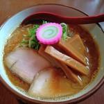 麺屋 高橋 - おさかな正油らーめん(平メンマ増し)