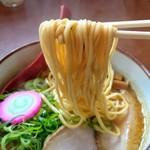 麺屋 高橋 - ストレート細麺