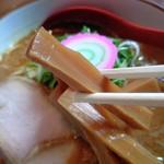 麺屋 高橋 - 細メンマ
