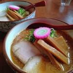 麺屋 高橋 - おさかな正油らーめん/2人分