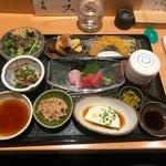 くずし割烹 天ぷら竹の庵 - 和食膳(1600円)