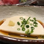 くずし割烹 天ぷら竹の庵 - おぼろ豆腐