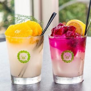 飲む美容液「マッコリ」のオリジナルドリンクが大人気!