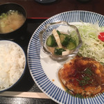 祖月輪 - 日替りランチ 豆腐ハンバーグ