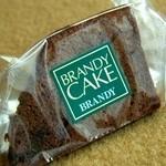 """手づくりケーキとクッキーの店 アシュ - """"ブランデーケーキ"""""""