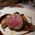 クオーレ・フォルテ - 料理写真:アイスランド産仔羊背肉のロースト