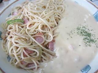 レモン - ホワイトカレースパゲティ