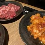 焼肉 叙庵 - カルビと激辛