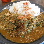 カクレンボ - 料理写真:スパイシーチキンカレー
