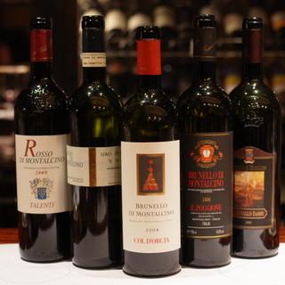 300種類を超えるワイン達