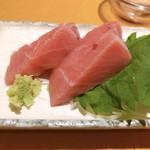 肴や - 本マグロ 500円 めちゃくちゃ美味しかった〜