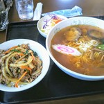 ぽんぽこ亭 - 料理写真:Cセット!彩り豊かなセットです!