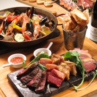 肉×チーズ×ワインが凄い!8Gの宴会コース!