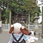 味司 野村 - 歩いて20分ほどで、吉備津神社(きびつじんじゃ)に到着。えっ、さっきの神社とおんなじだって?