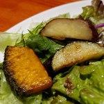 肉和食 肉バルダイニング 仙丹 - 揚げ野菜アップ