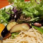 肉和食 肉バルダイニング 仙丹 - 揚げ野菜たち