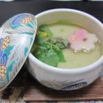 たにやん - 牡蠣の茶わん蒸し