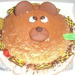 セントカトリーヌ - キャラクターケーキ約6号サイズ¥2500、可愛いお子さん、お友達に如何ですか