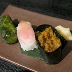 香味庵 まるはち - (2019/8月)漬物寿司