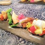 お野菜懐石&organic cafe~manaya(安曇野)~ - メインのプレート
