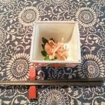 お野菜懐石&organic cafe~manaya(安曇野)~ - マイタケ&シイタケは菊とおろしでさっぱりと。