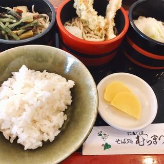 仁王門屋 むらまつ - 三味蕎麦(冷)