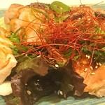 海鮮酒場 仙堂 - 若鶏の山賊焼き