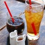 CAFE air - アイスコーヒーとアイスティ