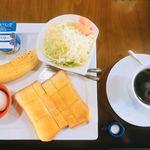 Cafe サイフォン - 料理写真:モーニング550円