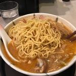 開花屋 - 中太麺(細麺との選択)
