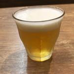 肉汁餃子のダンダダン - グラスビール(小)