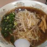 汐崎 - 醤油ラーメンです。